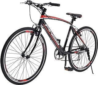 BTM クロスバイク マウンテンバイク 自転車 26インチ シマノ6段変速 MTB 一年保証