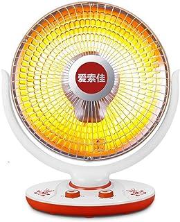 DGEG Calefactor, Mini Radiadores Halógenos, Calentador oscilante de Ahorro de energía para el hogar, pequeña Perilla del Sol Baño de Oficina 900w