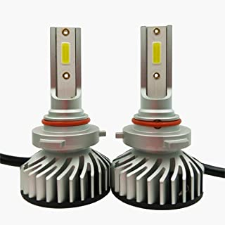 9005/HB3 LED Headlight Bulbs Conversion Kit, High Beam Bright Headlamp 6500K Cool White for Halogen Head Light Replacement, 1 Pair