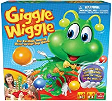Goliath Giggle Wiggle - The Twisting Turning Race to Get Your Marbles to The Top Game, Multi Color