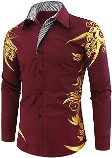 NOBRAND Jinyuan Men Shirts Spring Autumn Features Shirts Men Casual Gold Shirt Long Sleeve Casual Slim Fit