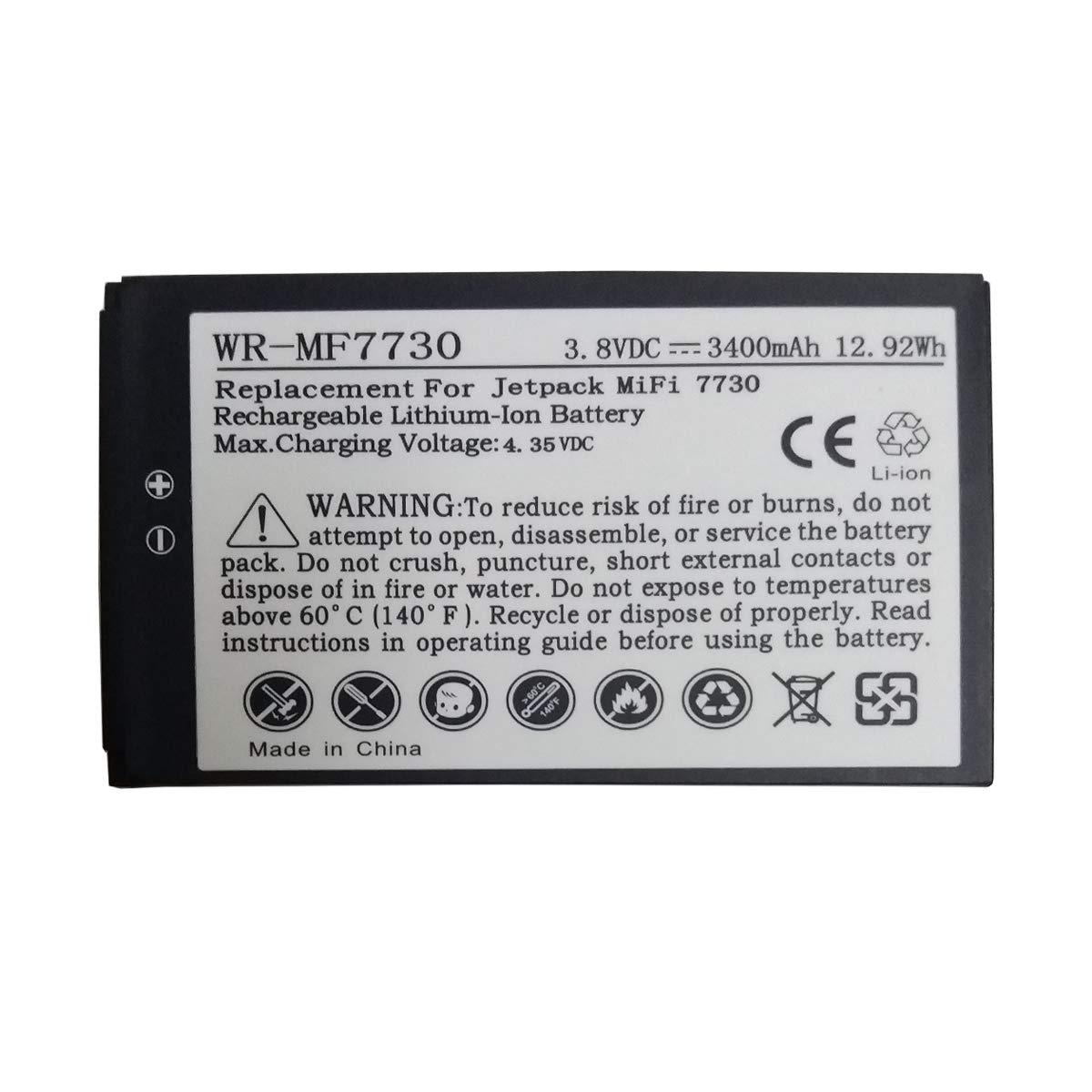 JIE Replacement 40123117 Battery Novatel