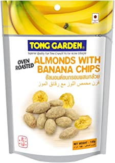 Tong Garden Almonds with Banana Chips, 140g