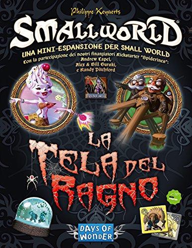Asterion 8815–Small World: La Tela de araña, edición Italiana