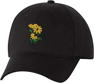 Black-eyed Susan Custom Personalized Embroidery Embroidered Hat Cap