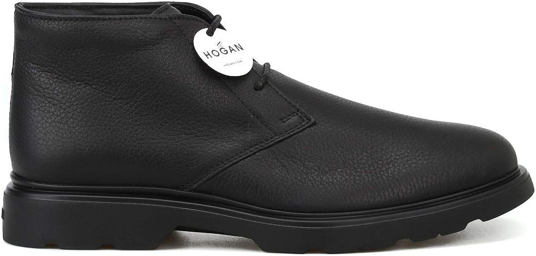Hogan Hogan Hogan Herren HXM3930W352DU50002 Schwarz Leder Desert Boots B07K16HRR6  52d1aa