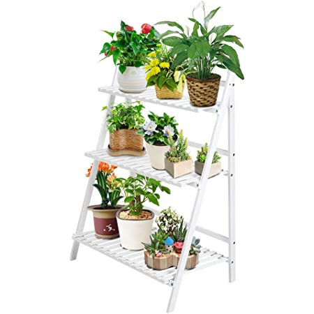 3//4 Layer Home Plant Stand Shower Shelf Kitchen Bath Rack Storage Organizer US