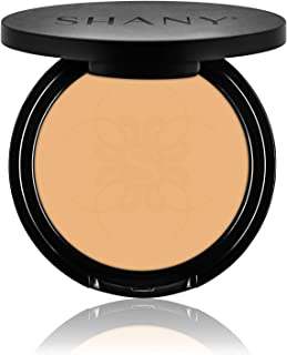 SHANY Two Way Foundation, Oil - Free, Talc Free, Wet/Dry - LIGHT AMBER