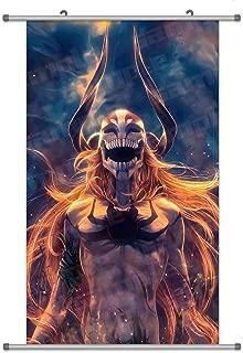KINGS ZW A Wide Variety of Bleach Anime Characters Wall Scroll Hanging Decor (Kurosaki Ichigo 1)