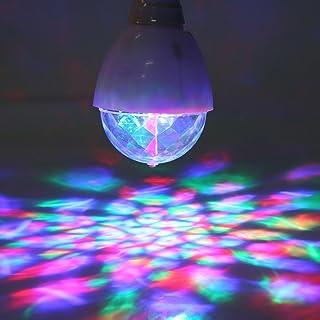 Luces de Discoteca Luces de Haz Ajustables Discoteca luz estrobosc/ópica MENGZHEN 1 Pieza de Luces LED para Fiestas Cabeza en Movimiento