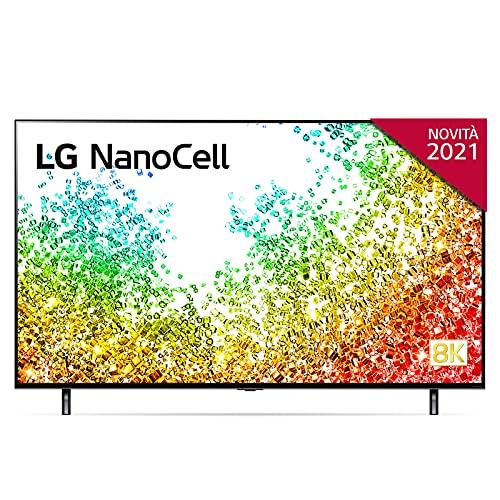"""LG NanoCell 55NANO956PA Smart TV LED 8K Ultra HD 55"""" Serie Nano 95, con Wi-Fi, Processore 8K α9 con AI, Nano Color, Full Array Dimming, FILMMAKER MODE, HDR 10 Pro, Google Assistant e Alexa Integrati"""