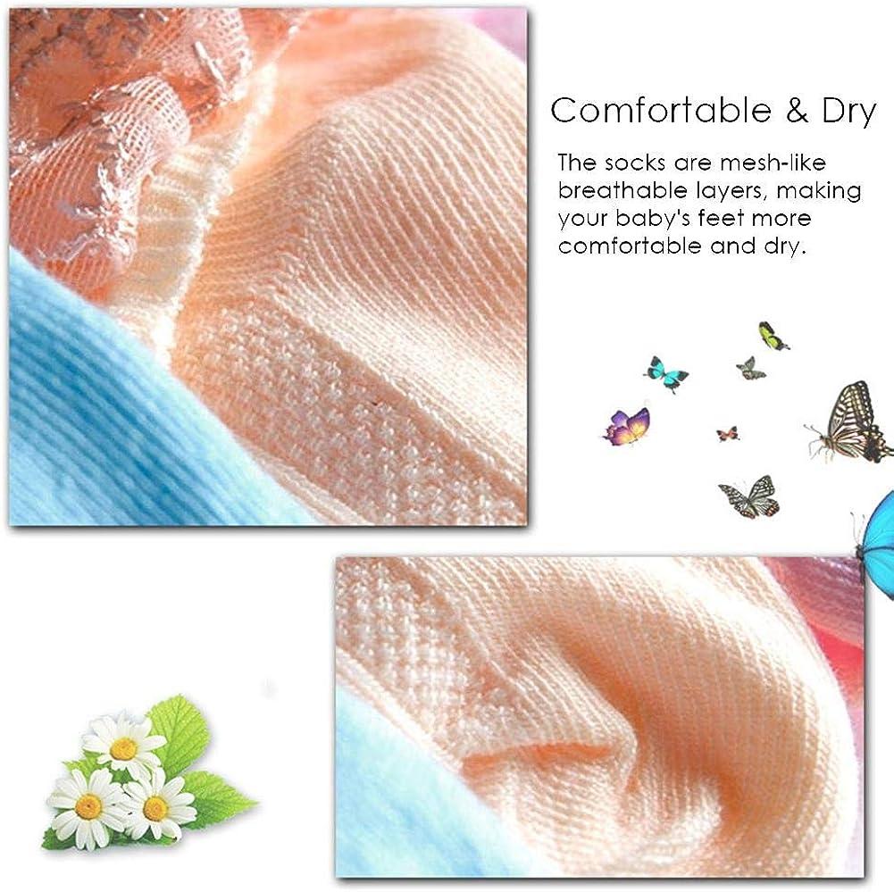 Calcetines de Encaje con Volantes Calcetines de Encaje para ni/ños Calcetines de algod/ón para reci/én Nacidos Calcetines para beb/és Lindos para ni/ñas