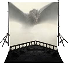 LYLYCTY 5x7ft Fantasy Backdrop Song of Ice and Fire Game of Thrones Party Supplies Fans Background for Photogaphy Viserion LYZY0534