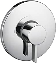 Hansgrohe 4233000 S Pressure Balanced Valve Trim with Integrated Volume Control, 6.75 x 6.75 x 3.00 inches, Chrome