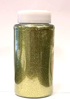 Ben Collection 1-Pound Glitter Powder Bottle Art Craft (Moss)