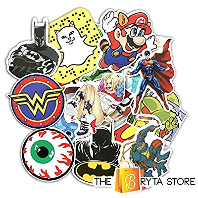Graffiti Stickers - Over 100pcs From The Bryta Store - For Laptops, Skateboard, Luggage, Car, Bike / Bicycle - Personalize and Customize Anything!
