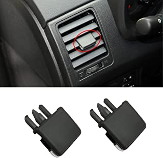 American Design Venttabs for Mercedes GL 350//450//500//550 Air Conditioning Vent Replacement Tab30-SECOND Installation Easy Clip on No Screws or Tools Required Black//Black 2012-2015