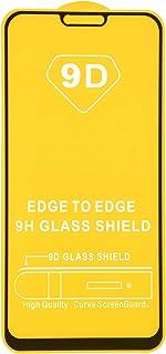 شاشة حماية زجاجية بإطار اسود لموبايل اوبو ريلمي C1 من دراجون - اسود