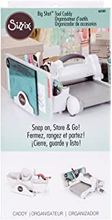 Sizzix Big Shot Tool Caddy White, SIZ661081, White, 11 inches x 5.25 inches x 4.5 inches