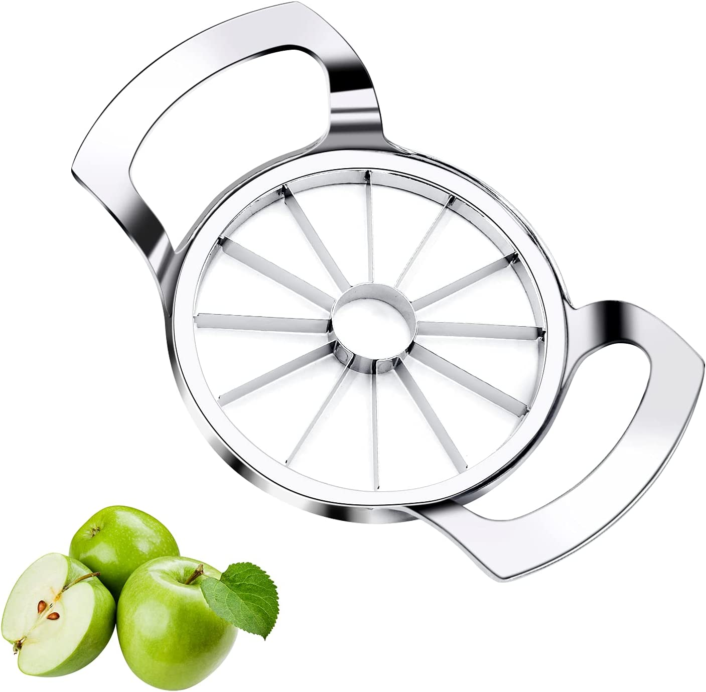 Stainless-steel Apple Directly managed store Slicer 12 Blades favorite Sharp and Sli Corer