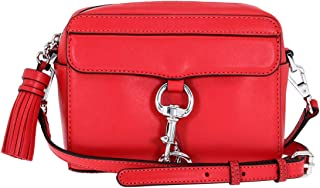 Rebecca Minkoff Mab Camera Ladies Small Red Leather Shoulder Bag HU17EGRX15-642