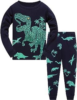 TEDD Jongens Pyjama Dinosaurus Nachtkleding Katoen Peuter Kleding Kinderen Nachtkleding Winter Lange Mouwen Kerst Pjs Sets...