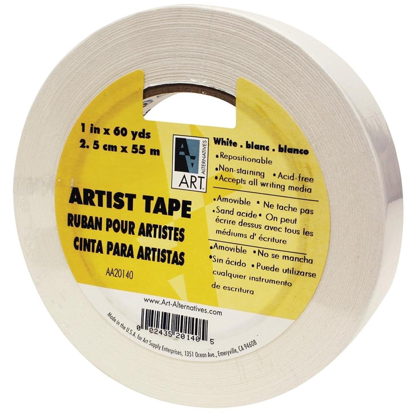 Art Alternatives Economy White Artists Tape - 1 Inch X 60 Yards ihwfj58968806414