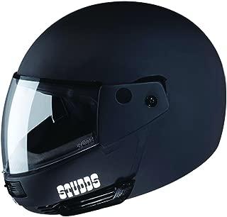 Studds Ninja Pastel Plain SUS_NPPFFH_MBLKXL Full Face Helmet (Matt Black, XL)