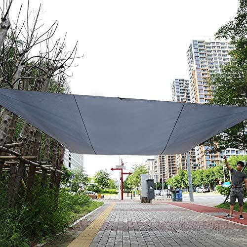 Jardin Balcon hydrophobe Carr/é 2 x 2 m Taupe CelinaSun Voile dombrage Pare-Soleil Polyester PES Protection test/ée Anti-UV UPF 50