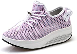Women Athletic Walking Shoes Sock Fashion Sneakers Breathable Comfort Slip on Sports Trail Running Shoes