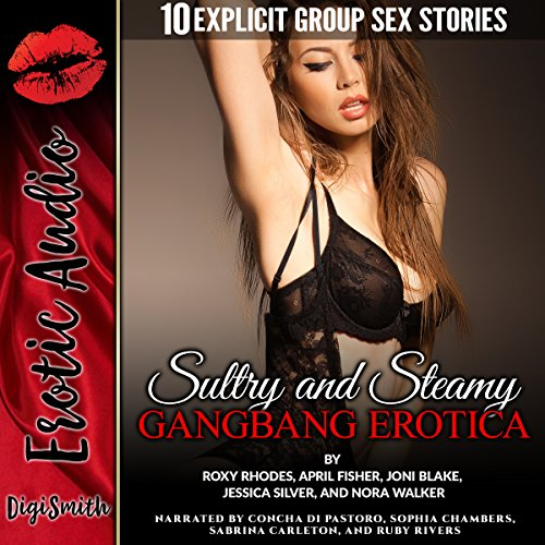 Sultry and Steamy Gangbang Erotica audiobook cover art