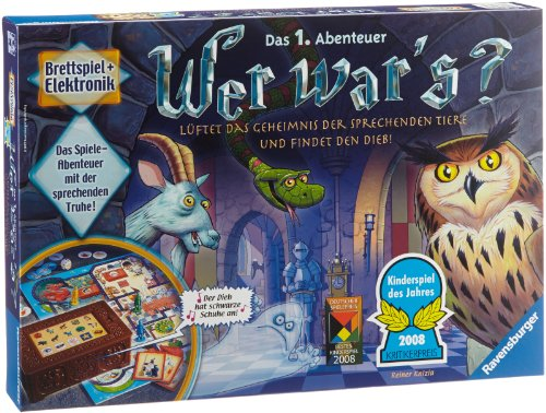 Ravensburger Kinderspiele 21854 - Wer war's? 21854 - Spiel für Kinder ab 6 Jahren