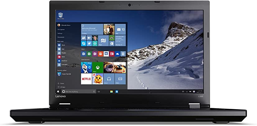 Lenovo 20F10032GE Full HD Laptop Intel Core i7 8GB RAM Intel HD Graphics 520 Win 10 Pro 39 6 cm 15 6 Zoll schwarz Schätzpreis : 1.499,95 €