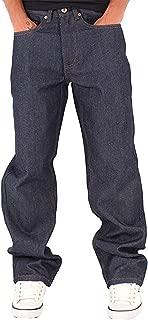 Men's Double R Denim Loose Fit Jeans, Raw Indigo