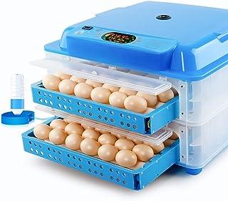 WXQ-XQ 自動鶏のアヒルの鳥のためのインキュベーター、128デジタル家禽ハッチャーでLED表示、温度&湿度制御を、転卵