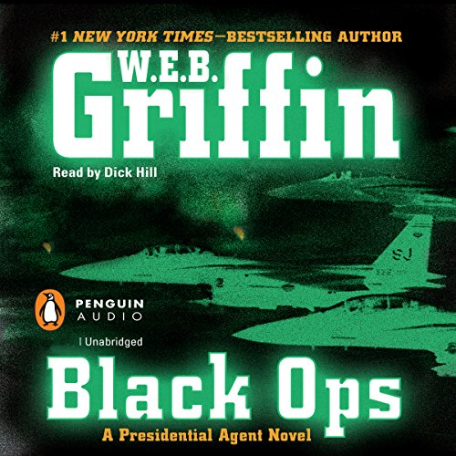 Black Ops audiobook cover art