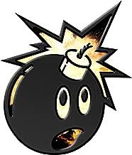 Black Adam Inspired Bomb Character Window Laptop Car Sticker 4