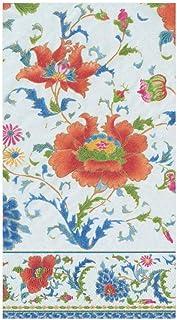 مناديل مناشف للضيوف الورقية الخزفية الصينية البيضاء من كاسباري، 15 قطعة في كل عبوة