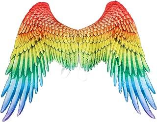 Dermanony Halloween Wings Parties Mardi Gras Cosplay Pretend Play Dress Up Angel Eagle Wings Costume Accessory Wings
