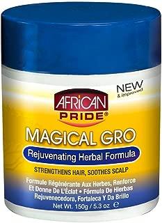 African Pride Magical Gro Rejuvenating Herbal Formula, 5.3 Ounce