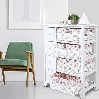 Armoire de rangement de Style Simple moderne, armoire de chambre à coucher armoire latérale de grande capacité armoire d'a...