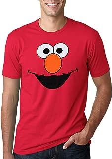 Sesame Street Elmo Face Adult T-Shirt