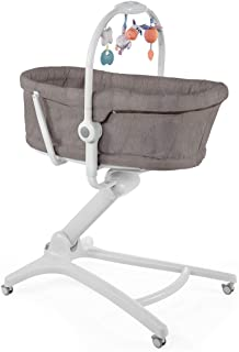 Chicco Baby Hug 4en1 - Sistema multifunción: moisés, hamaca, trona y silla, regulable en altura, color marrón (Legend)
