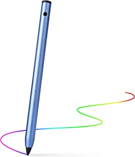 Active Stylus Pen,Wuudy Adjustable Fine Point Stylus Providing Accurate/High Sensitive Writing and Drawing Experience for iPad/iPhone/Android and Other Touchscreen Devices.(Blue)