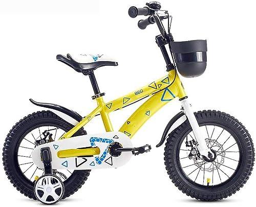 garantizado Axdwfd Infantiles Bicicletas Bicicletas para Niños Bicicleta para para para Niños de 14 y 16 Pulgadas para Niños y niñas, Adecuado para Niños de 3 a 8 años de Edad  orden en línea