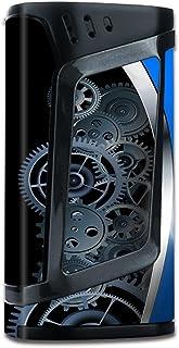 Skin Decal Vinyl Wrap for Smok Alien 220w TC Vape Mod stickers skins cover / Mechanical Gears Motion