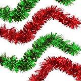 THE TWIDDLERS Festone per Albero di Natale - Ghirlanda Natalizia per Albero di Natale da 2...