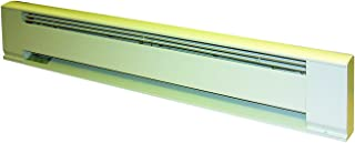 TPI H391572 Series 3900 Hydronic Electric Baseboard Heater, 1500/1125 Wage, White