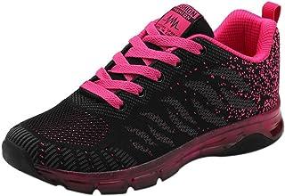 783e696f Logobeing Zapatillas de Deporte con Cojines de Aire Calzado de Running Net  para Estudiante Volar Zapatos