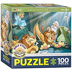 Daniel and the Lions 100-Piece Puzzle